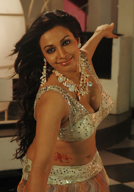 Asha Saini Dress in a Tollywood item Songs, Asha Saini Leg Show in Silver Dress