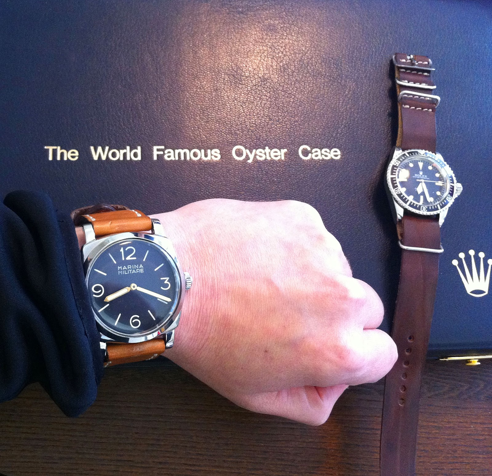 Welcome To Paneraimagazinecom Home Of Jakes Panerai World 2014 The Watch Diagram A Rolex Below Shows Case In Detail Photo 8mm Brevet Winding Crown Which Clearly Has Logo On It Main Difference Between Original And All New