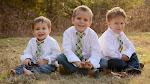 Weston 5.5, Caleb 3.5, Tyson 1.5