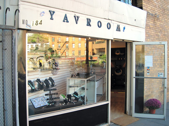 Yavroom may seem inconspicuous on the outside, but shopping in New York will lead you to it's doors