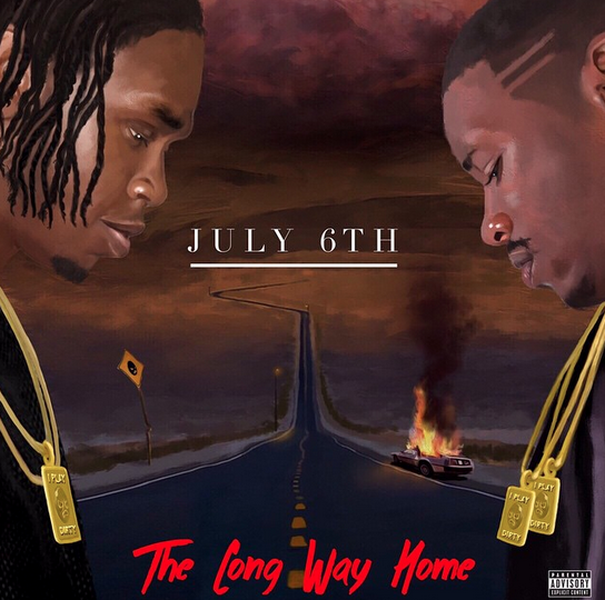 Krept & Konan - The Long Way Home Album Cover
