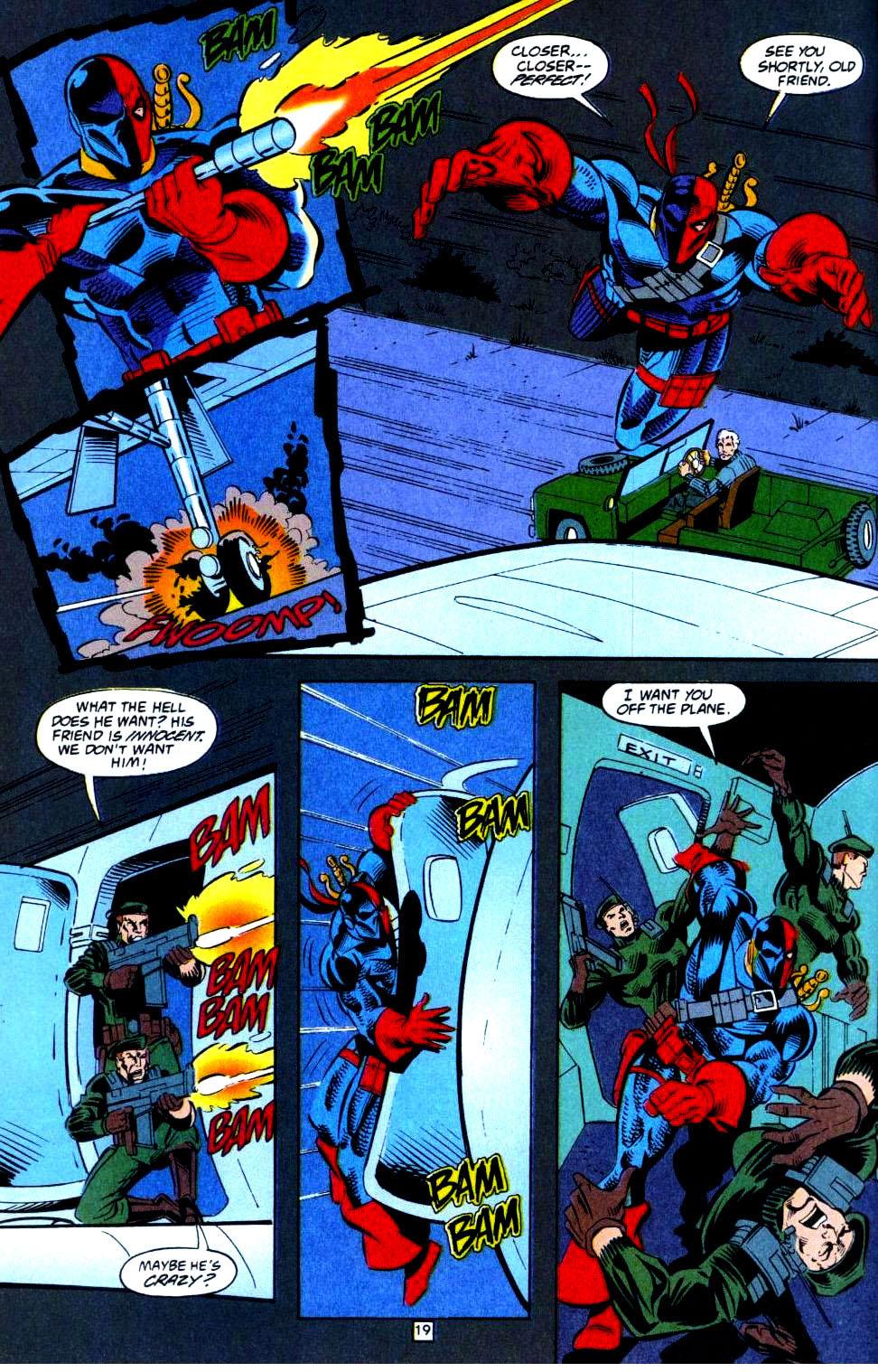 Deathstroke (1991) Issue #36 #41 - English 20