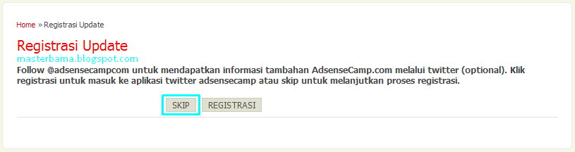 Cara Mendaftar Menjadi Publisher Di AdsenseCamp