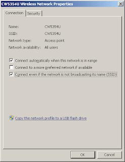 Backup Wireless Network Settings Windows 7