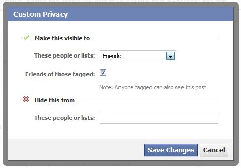 facebookプライバシー設定カスタマイズ:ESETセキュリティブログ