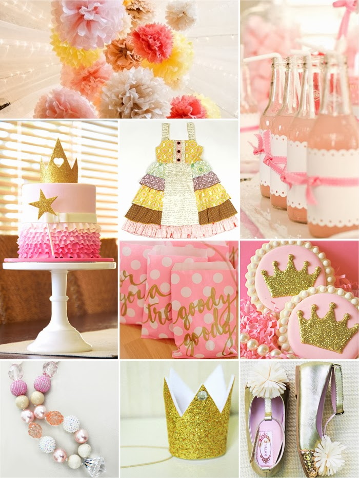 ... Style - Boutique Girls Clothing Blog: Princess Birthday Party Ideas