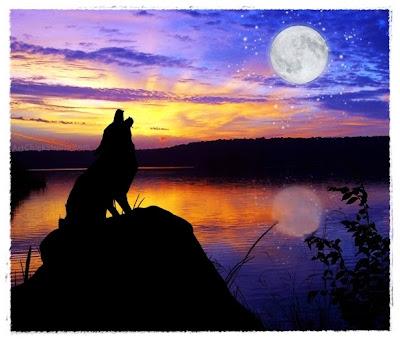 Moonlight Serenade Digital Collage