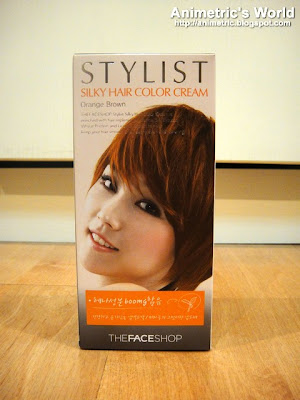 The Face Shop Stylist Silky Hair Color Cream in Orange Brown