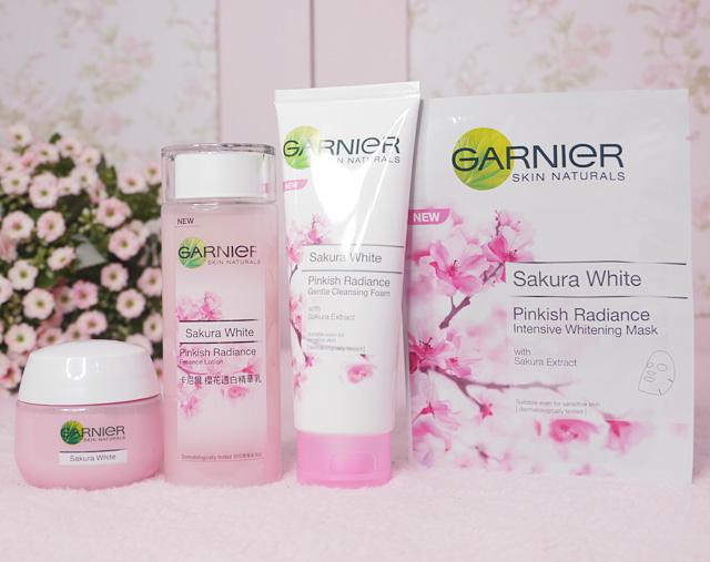 ผลการค้นหารูปภาพสำหรับ Garnier Sakura White