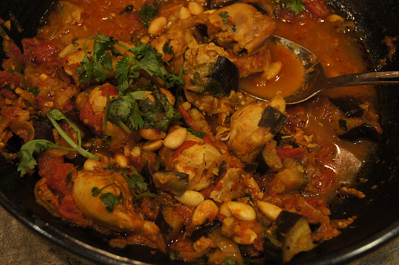 moroccan chicken with eggplant moroccan chicken with eggplant moroccan ...