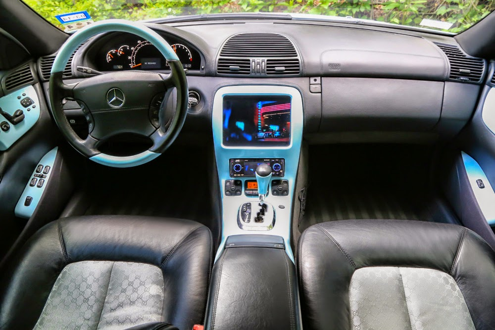 mercedes interior tuning