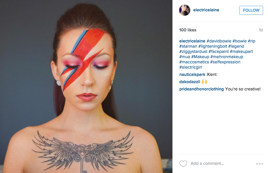 Ziggy Stardust Makeup You - Mugeek Vidalondon