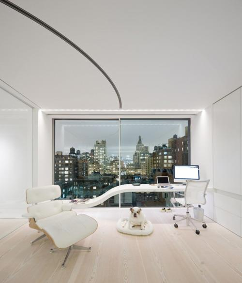 OFICINA ESTILO FUTURISTA futuristic home office