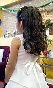 Peinados, Niña de la Flores, Cabello Largo, parte 3