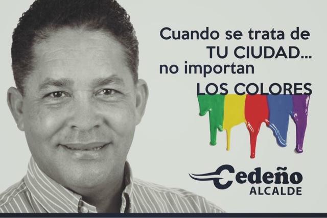 Eugenio Cedeño...alcalde!