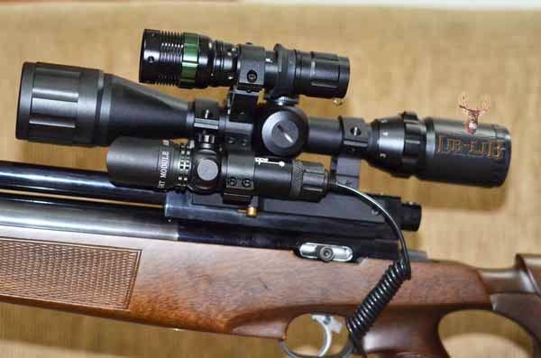 laser senapan angin