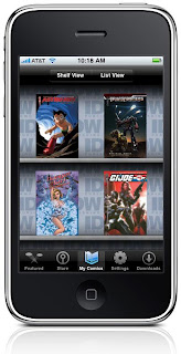 Digital Comics on the iPhone - 365 Days of Comics