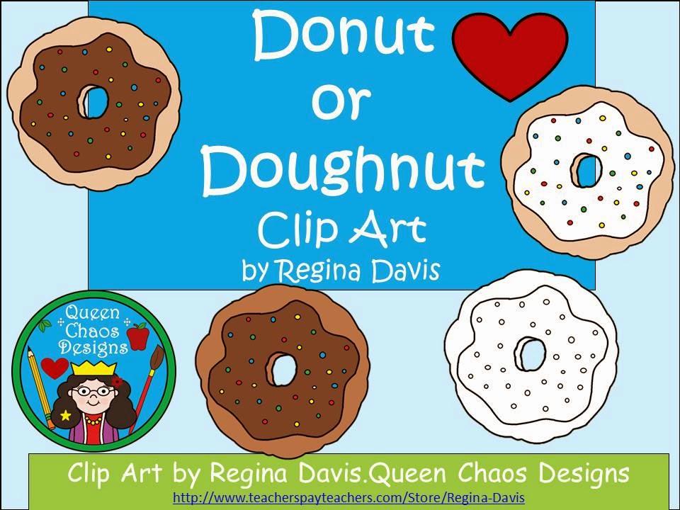 http://www.teacherspayteachers.com/Product/AFREEBIEClip-Art-Donut-or-Doughnut-1219038