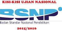 Kisi-kisi Ujian Nasional untuk Satuan Pendidikan Dasar dan Menengah serta Pendidikan Kesetaraan