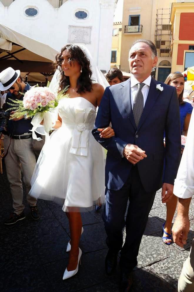 Matrimonio a Capri per Caterina Balivo e Guido Maria Brera oggi sposi ...
