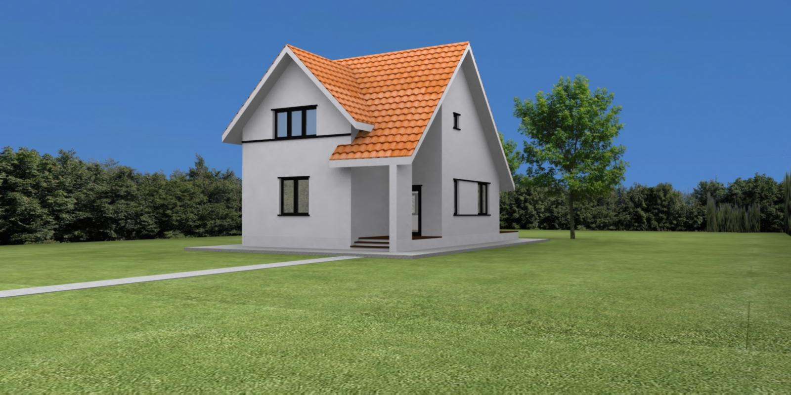 Case planuri proiecte proiect vila tip h for Planuri de case