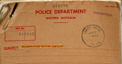 Police UFO Files (Cover Crpd - OZ)