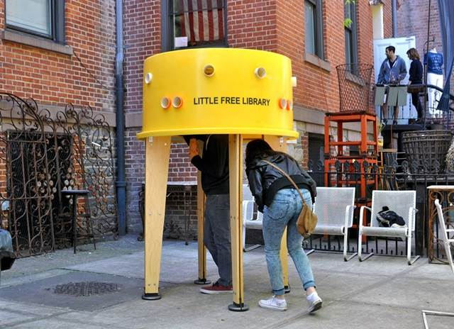 little free library new york