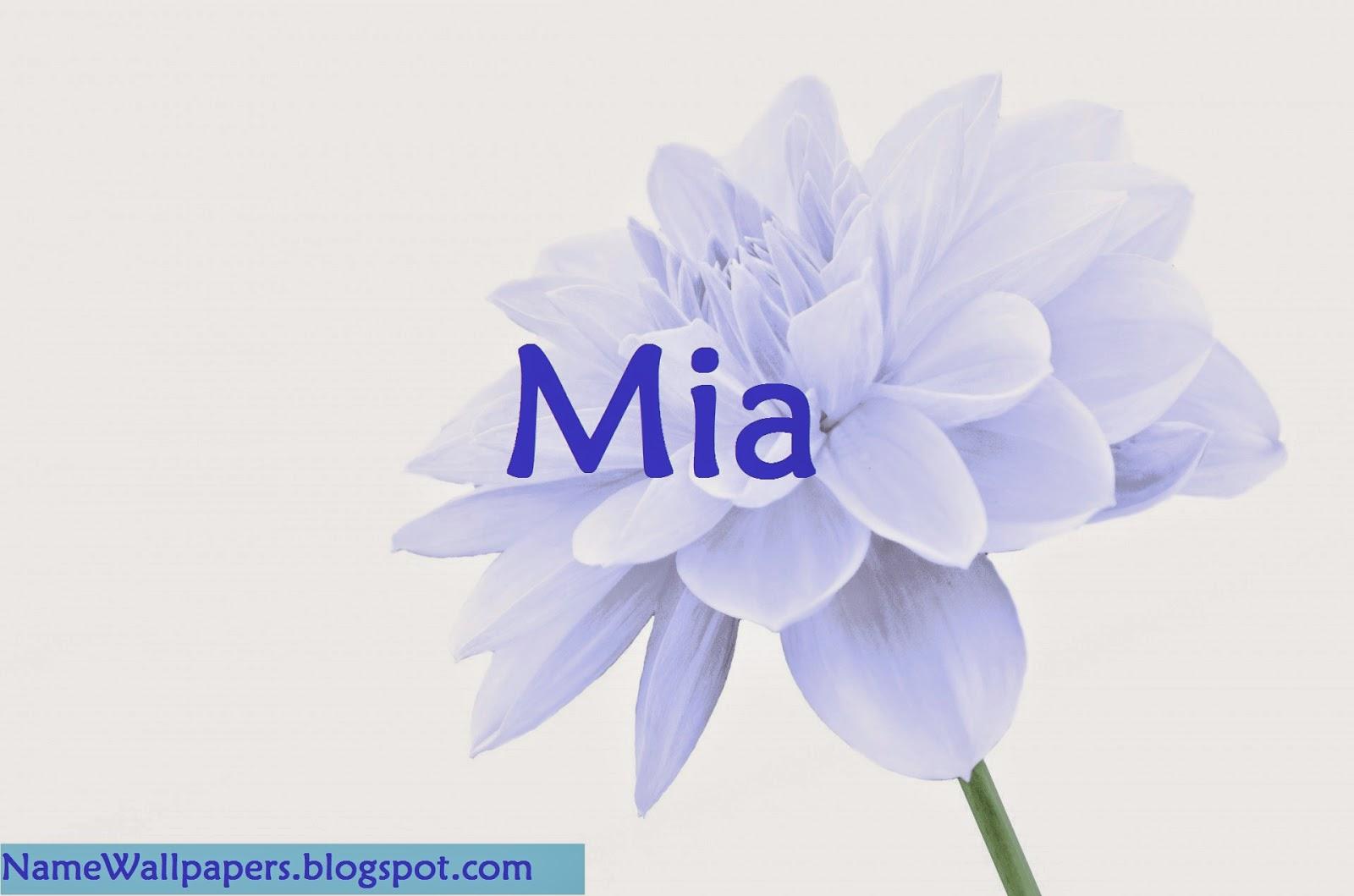 Mia Name Wallpapers Mia ~ Name Wallpaper Urdu Name Meaning ...