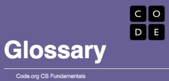 Coding glossary