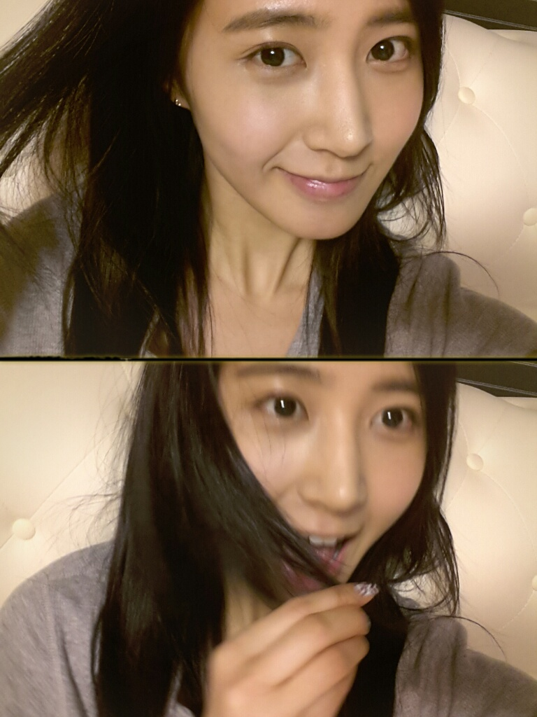 yuri floods fans with her selcas daily k pop news