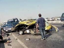 إصابة مجند في حادث تصادم سيارتين بسوهاج
