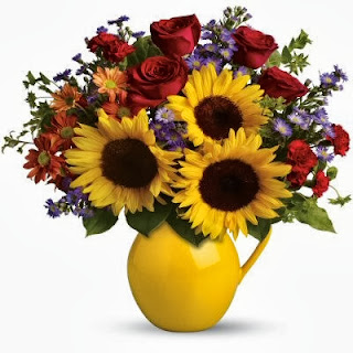 Order the Sunny Day Pitcher of Flowers