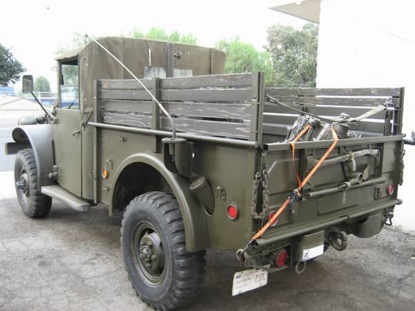1953 Dodge M37 Power Wagon Military Truck