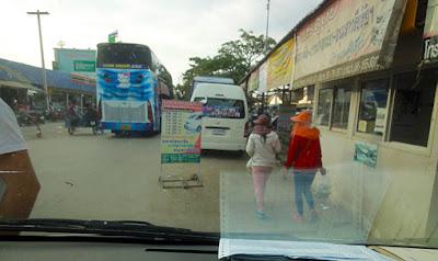 at Aranyaprathet border
