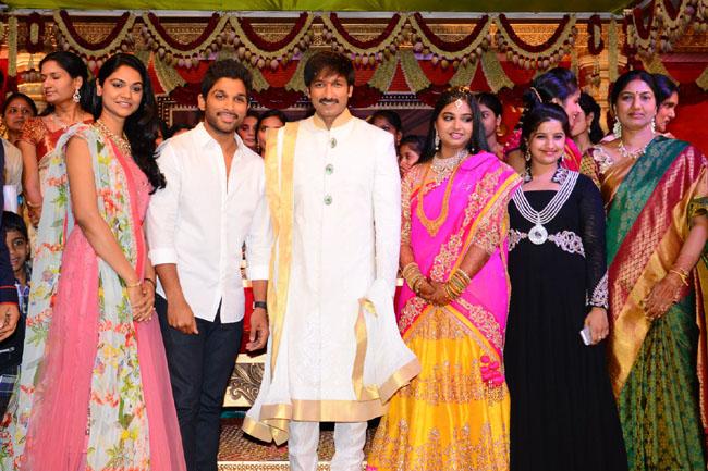gopichand reshma marriage photos9
