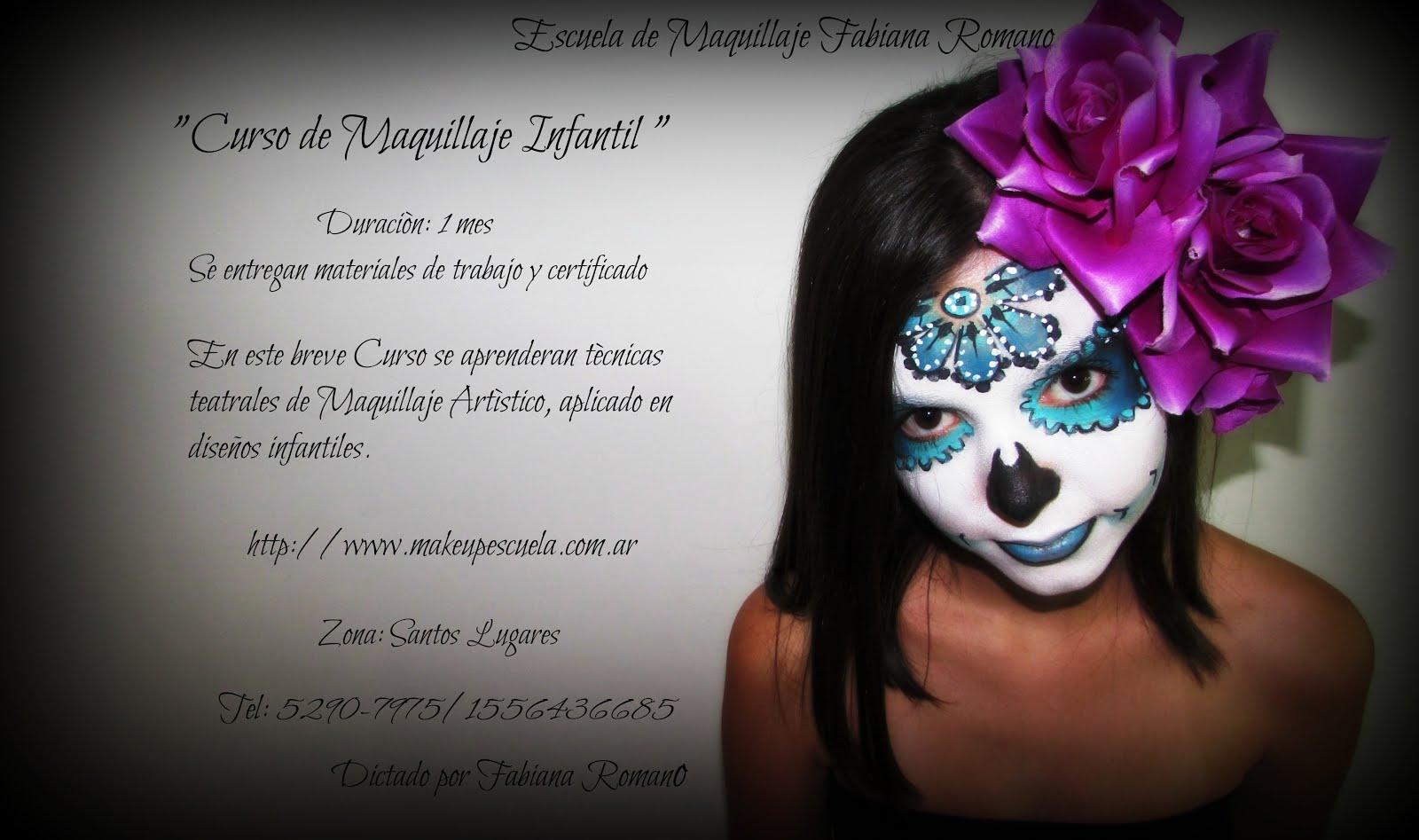 Curso de Maquillaje Artistico 2016