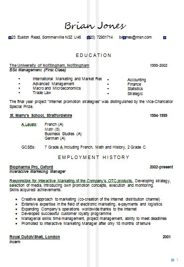 general resume cv resume builder cv or resume example of