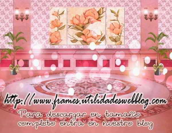 fondo de fiesta color rosa para hacer fotomontajes de 15 años