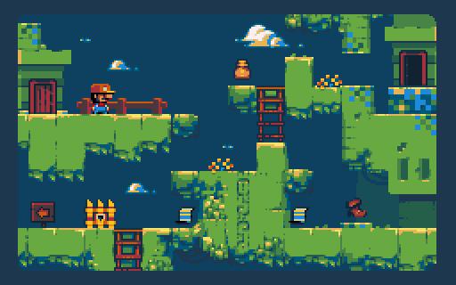 Pocket Kingdom tratará de darle una vuelta a los puzles con sus gráficos pixelados y su mundo 'abierto'