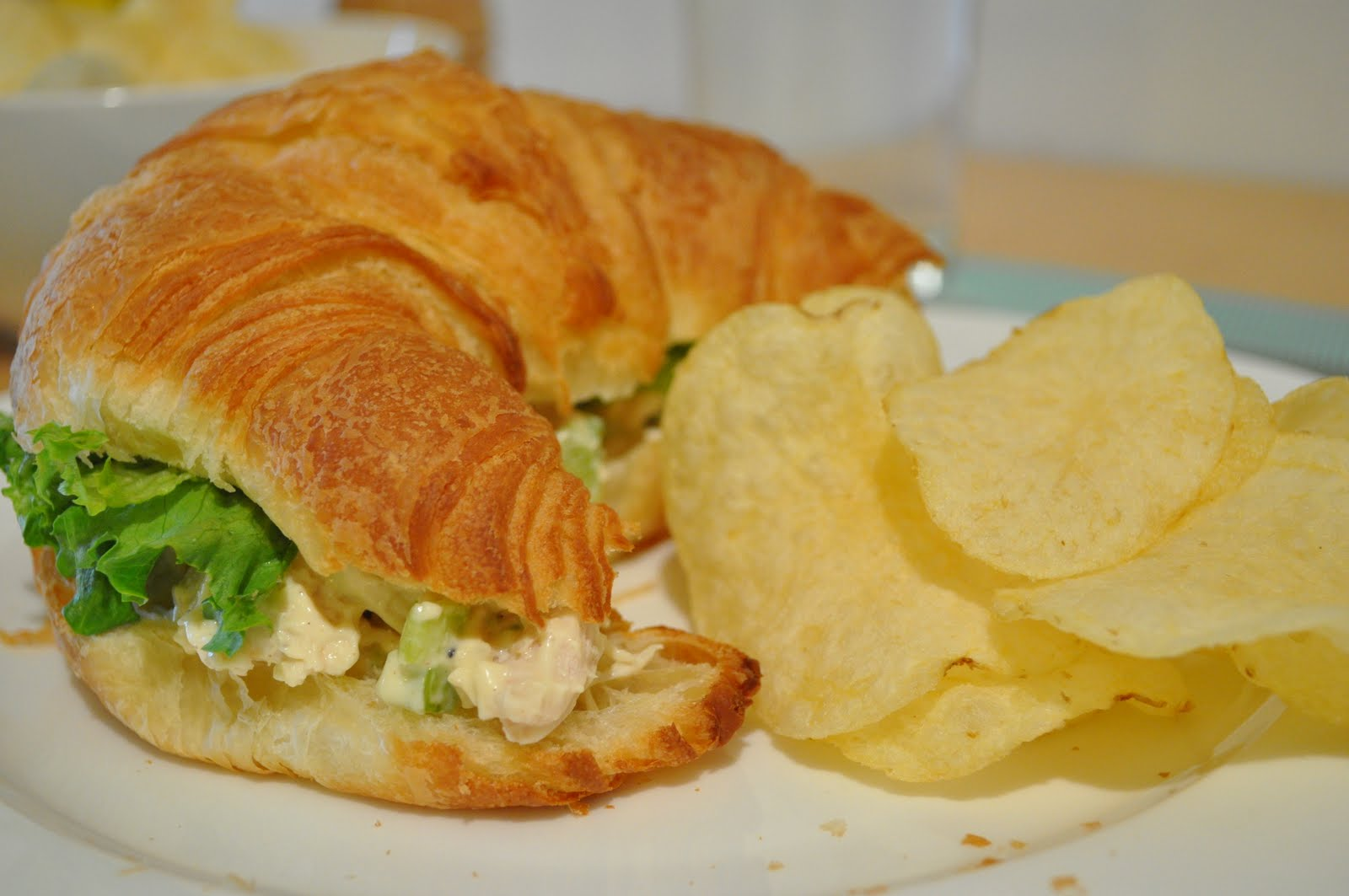 My Tiny Oven: Chicken Salad Sandwich