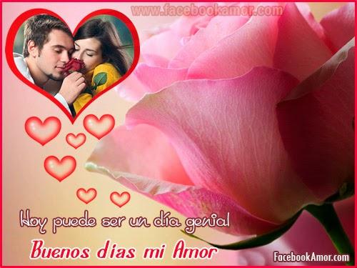 imagenes romanticas buenos dias amor para facebook