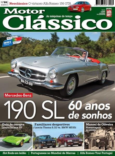 Motor Clássico – Nº 99 Maio (2015)