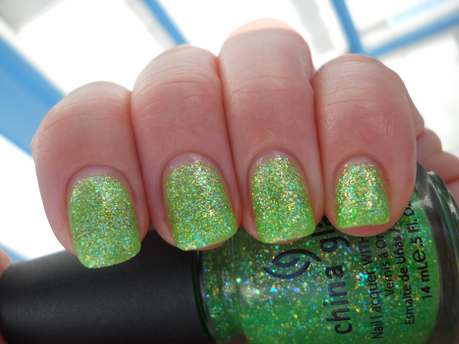 Ali\'s Nail News: St. Patrick\'s Day Mani. and Green Spam Part Two!!