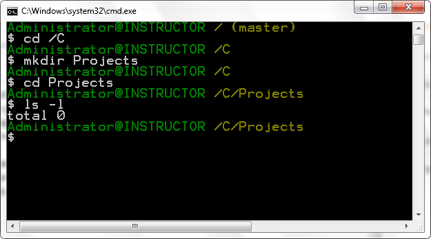 how to use git bash for creating a websiere