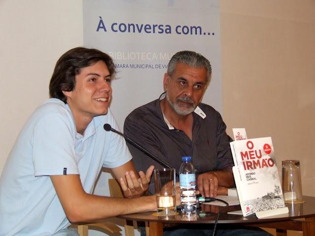 À conversa com Afonso Reis Cabral.