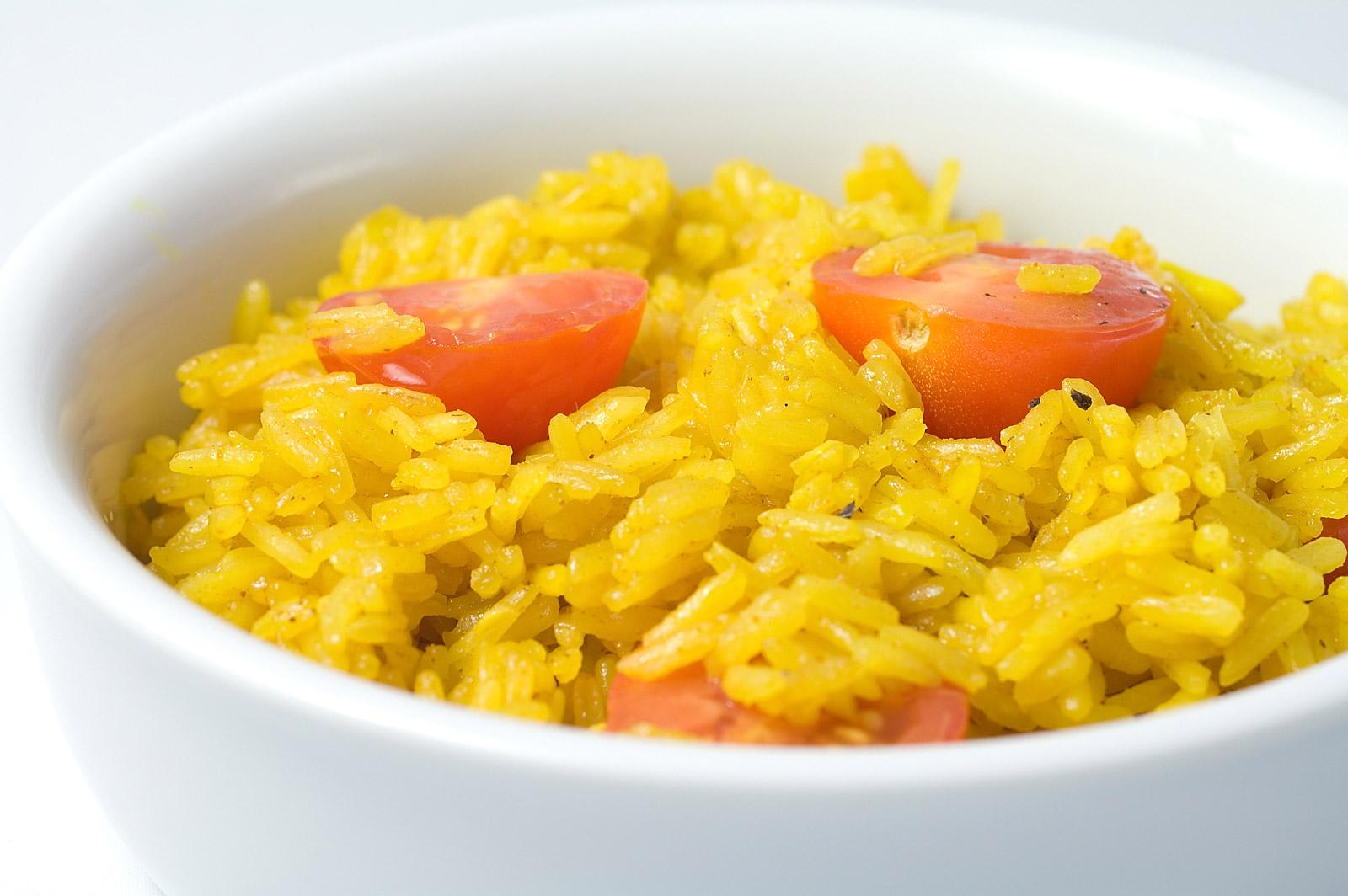 Как приготовить рис куркума