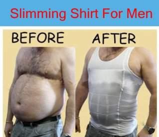 Slim N Lift Body Shaping - Pakaian Pelangsing Untuk Pria