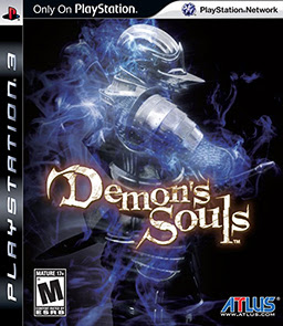 Demon's Souls front cover playStation 3