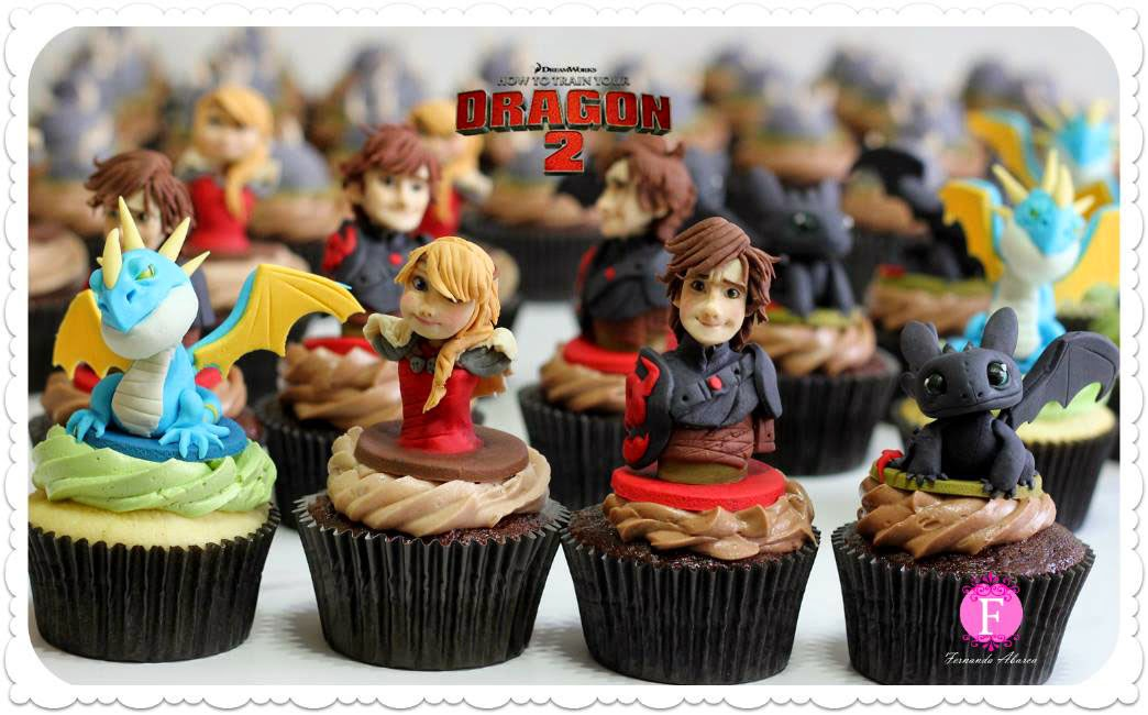 How to train your dragon 2 cupcakes check out their facebook for more animated movie themed cupcakes incluing a swell series from disneys frozen although it is pretty weird to somehow ccuart Image collections
