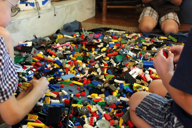 Abide With Me A Lego Party For The Birthday Boy